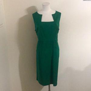 Eloquii Green Cut Neck Dress Size 18